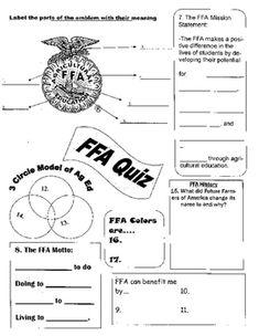 Worksheets. Ffa Emblem Worksheet. Pureluckrestaurant Free ...
