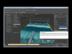 Create a large-scale water simulation in RealFlow (9 of 9)