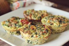 Mini Egg Frittatas | Angela's Faith-N-Fitness