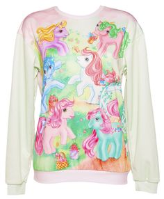 EXCLUSIVE My Little Pony #Vintage Scene #Jumper from Mr Gugu & Miss Go xoxo #MLP
