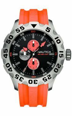 Nautica Men's N15565G BFD 100 Multifunction Black Dial Watch NAUTICA. Save 40 Off!. $93.62