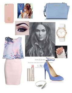 """""""Untitled #208"""" by farah-future-malik on Polyvore featuring Boohoo, Aquazzura, Tory Burch, Michael Kors, Marc by Marc Jacobs and By Terry"""
