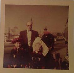 Buster Keaton with kids (Eleanor's nephews ?) 1950s