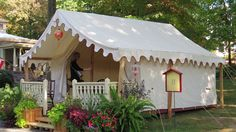 Victorian tent