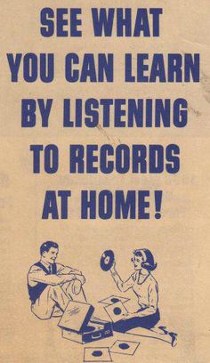 • Vinyl is the Answer • ⋅ See What You Can Learn by Listening to Records at Home ⋅
