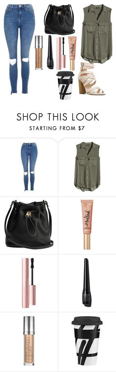 """""""Untitled #187"""" by marvel1 ❤ liked on Polyvore featuring Topshop, H&M, Too Faced Cosmetics, Sonia Kashuk, Urban Decay and Lenox"""