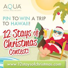 Show us your dream Christmas in Hawaii and you could win a trip to Hawaii! www.12staysofchristmas.com