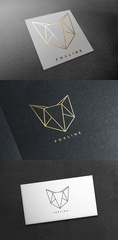 Fox Logo - All For Decorations Renard Logo, Brand Identity Design, Branding Design, Interior Design Logos, Logo Animal, Clothing Brand Logos, Clothing Logo Design, Type Logo, Inspiration Logo Design