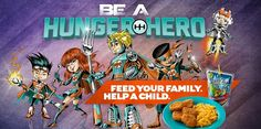During the month of August be #HungerHeroes - join forces with Sam's Club, Tyson, and Kraft to give back to local communities.