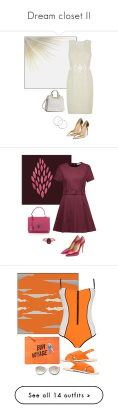 """""""Dream closet II"""" by soleuza ❤ liked on Polyvore featuring Christian Louboutin, Opening Ceremony, Louis Vuitton, Salvatore Ferragamo, Lizzie Fortunato, York Wallcoverings, Bondi Born, Matisse, Michael Antonio and Anya Hindmarch"""