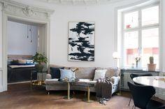 Rund lägenhet