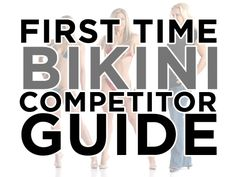 Learn what is takes to compete in NPC Bikini with Julie Lohre's First Time Bikini Competitor Guide. Start your Bikini Contest Prep Here!