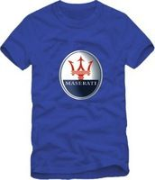 2014 Summer New Men's Maserati T shirts Short Sleeve Hiphop Skateboard  Maserati T shirts