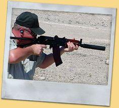 AK 47 Kalashnikov Shooting