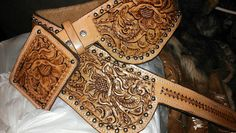 A belt my friend Triesta made for me. Go to wild bleu boutique to have her make you one.