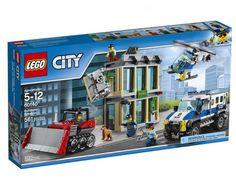 DONE/PROMISE, US, MATT, 2017, $40, 60140 Bulldozer Break-in, 561 pieces, LEGO City 2017