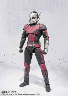 ToyzMag.com » S.H.Figuarts Ant-Man les images officielles