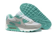 new arrival 01cf3 66a3c Nike Air Max 90 Hyperfuse White Gray Green Cheap Sneakers, Best Sneakers, Nike  Shoes