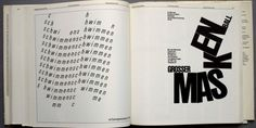 """""""Typography: """"A Manual of Design""""   - student adaption"""