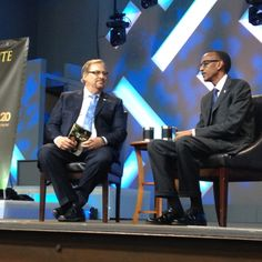 "#Kwibuka20 Hi Excellency President Paul Kagame attributed Rwanda's progress to a common quest for human dignity: ""Human dignity and aspirations are the same for every human being. In Rwanda, we sank so low, we couldn't go any lower. Our only choice was to move up. We look back and say we deserve better and we can do better."" (Saddleback Church, Rick Warren)"