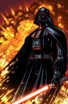Darth Vader /by *zaratus #deviantART #StarWars #art