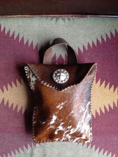 A Diaper wallet from Go West Designs. gowestdesigns.us