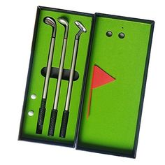 Seadream Golf Gift Set,Desktop GOLF PEN Set Including Putting Green, 3 Golf Club Pens & Balls - http://golfing.nationalsales.com/seadream-golf-gift-setdesktop-golf-pen-set-including-putting-green-3-golf-club-pens-balls/