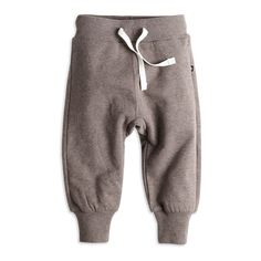 Bukse i deilig bomullsfleece. Utrolig myk og god for babyen. Cotton Fleece, Cosy, Trousers, Sweatpants, Fashion, Brown, Trouser Pants, Pants, Moda