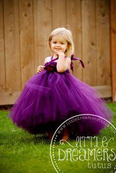 Perfectly Plum Tutu Dress by littledreamersinc on Etsy, $60.00