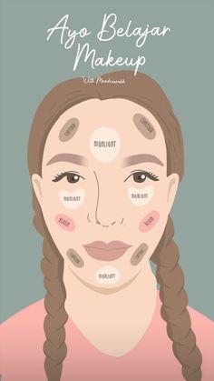 How To Wear Makeup, Diy Beauty Makeup, How To Apply Makeup, Skin Makeup, Face Care, Body Care, Skin Care, Makeup Order, Make Up Tricks
