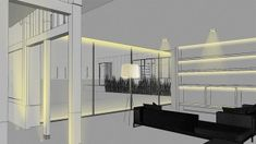 Nulty - Residential Interior Modern Minimalist Living Space Lighting Design