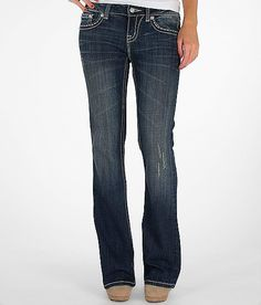 Miss Me Easy Boot Mixed Hardware Stretch Jean.. <3 <3