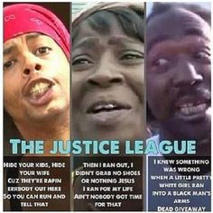 The Justice League...gotta admit this is funny