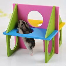 Shop for Keersi Funny Wood Exercise House Toy For Pet Dwarf Hamster Gerbil Rat Mouse Small Animal Cage Toy. Starting from Compare live & historic pet supply prices. Diy Hamster Toys, Small Hamster, Bear Hamster, Hamster Life, Rat Toys, Hamster House, Guinea Pig Toys, Gerbil, Guinea Pigs