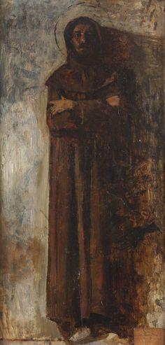 Saint Francis of Assisi / San Francisco de Asís // circa 1888 // Vicente Palmaroli y González // #Franciscan