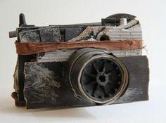 Artist Pauline Bastard Turns Found Objects and Debris into Stunning Sculptural Cameras