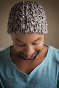 Expression Fiber Arts, Inc. - Man-Approved Cabled Hat Pattern, $4.00 (http://www.expressionfiberarts.com/products/man-approved-cabled-hat-pattern.html)