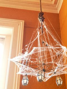 Gespenstige Dekoideen zu Halloween zum Selbermachen