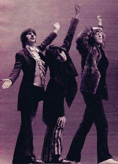 Ringo, George and John