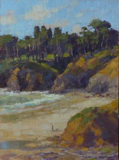 Jim McVicker Paintings: Recent Oil Sketches-On Location, Sea Ranch Ca.