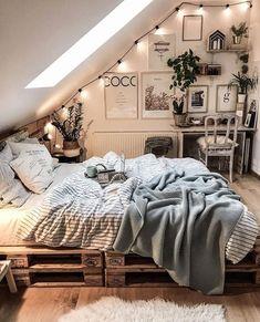 College bedroom decor - 15 Modern Bedroom Design Trends and Ideas in 2019 Page 13 of 54 Stylish Bedroom, Cozy Bedroom, Scandinavian Bedroom, Bedroom Inspo, Bedroom Rustic, Bedroom Neutral, Bedroom Simple, Industrial Bedroom, Bedroom Chair