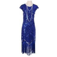 Flapper Dress – Royalblue / 12 It's holiday time which means time for the best Great Gatsby flapper dress. This stunning dress is great for hostessing or attending any party or event. Dress is made from stretchy fabric covered in sequins, round neck, cap sleeves and a fringed hem that falls just below the knee. … Flapper Dress – Royalblue / 12 yazısı ilk önce Party üzerinde ortaya çıktı.