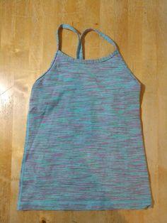 3c8001164 GIRLS ivivva Lululemon shirt tank top size 8 dance summer  fashion   clothing  shoes