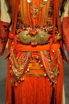 Wedding Costume Macedonia    Details of a costume worn by a Macedonian bride. Museum of International Folk Art. Santa Fe, New Mexico. Source: Golo Brdo