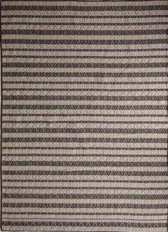 Nirvana Gray Almond/Brown Polypropylene Rug