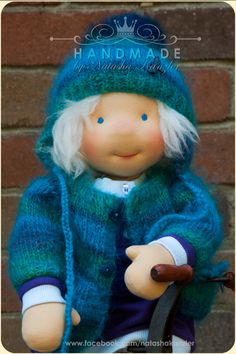 Traditional Waldorf doll, 18 inch. Christmas Special Price.