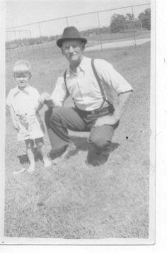 George Philip Ellingson and grandson, Bobby Ellingson