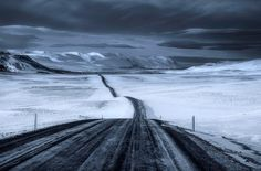 ***Lonely road (Iceland) by Daniel Herr on 500px