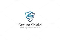 Secure Shield - S Logo by LogoVibe on @creativemarket
