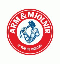 Arm & Mjolnir - who dares challenge Thor